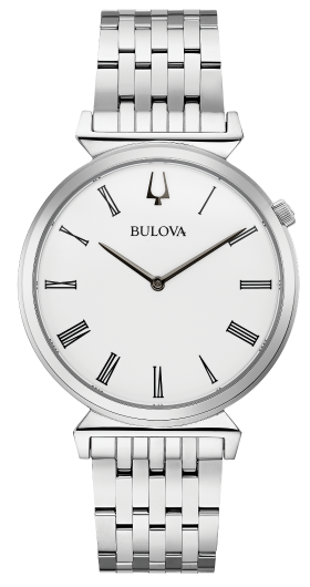Bulova Mens Watch: Silver Tone