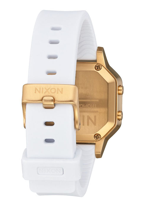 Nixon Siren Watch: Gold/White
