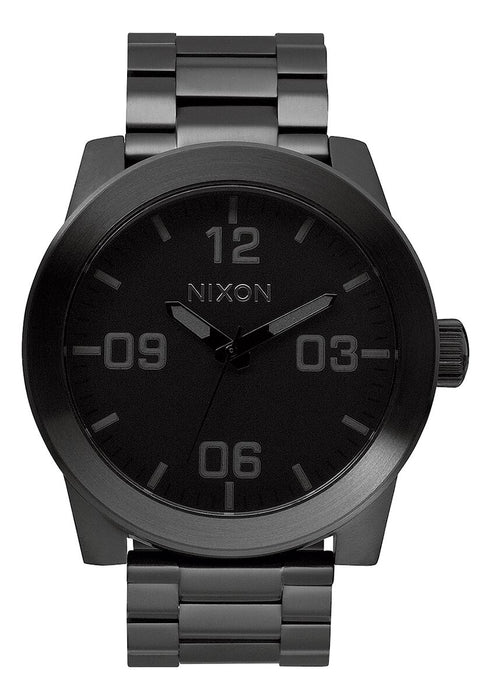 Nixon Corporal Watch: Black