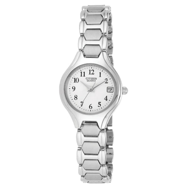 Citizen Quartz Watch: Silver Tone
