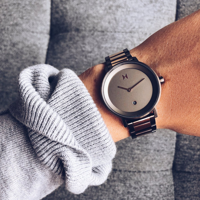 MVMT Signature Watch: Rose/Taupe