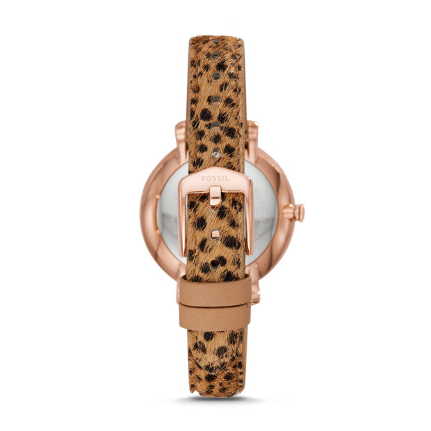 Fossil Jacqueline Watch: Cheetah