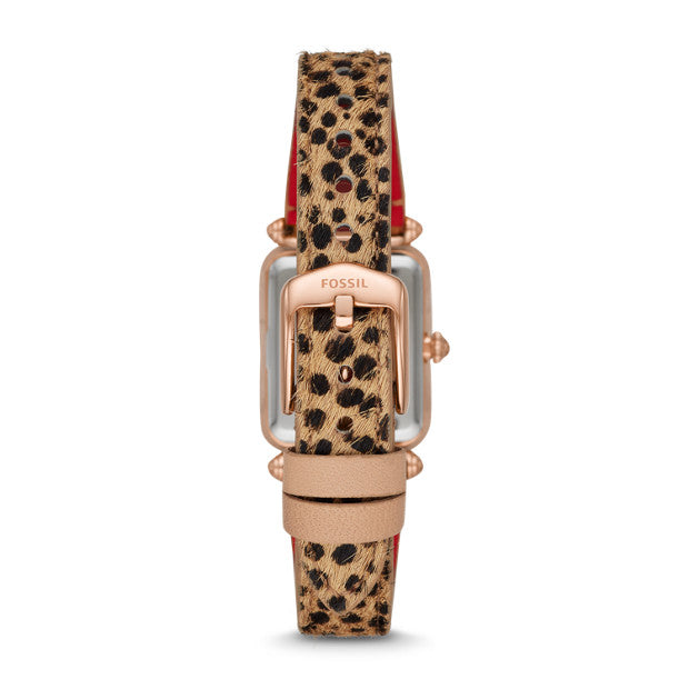 Fossil Lyric Watch: Cheetah