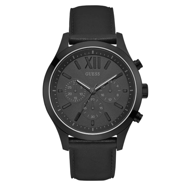 Guess Men's Chronograph Sport Watch: Black