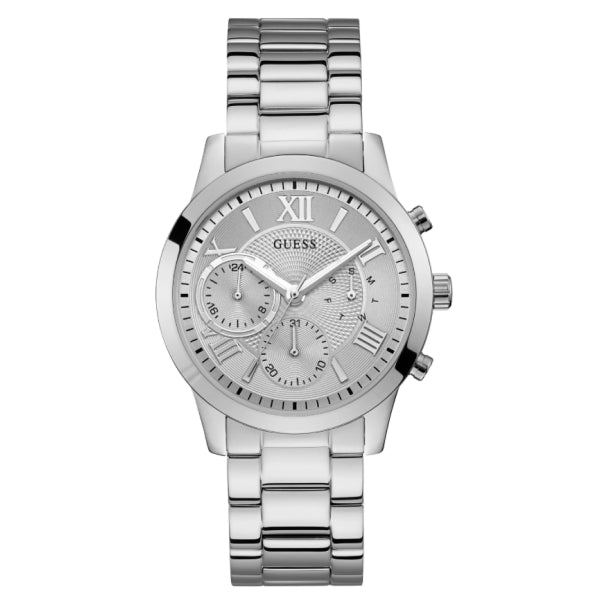 Guess Ladies Multifunction Watch: Silver