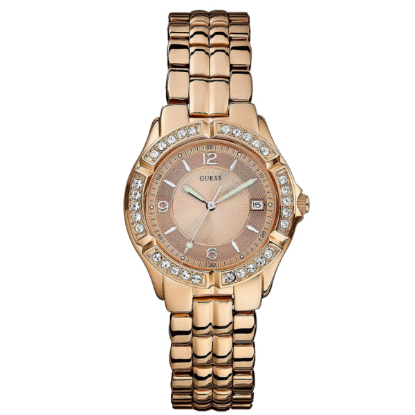 Guess Ladies Sport Watch: Rose