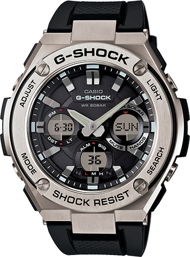 G-Shock Watch: Steel