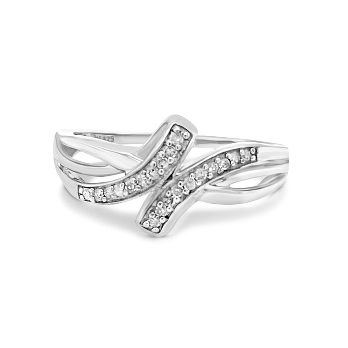 .10CT Diamond Wave Ring