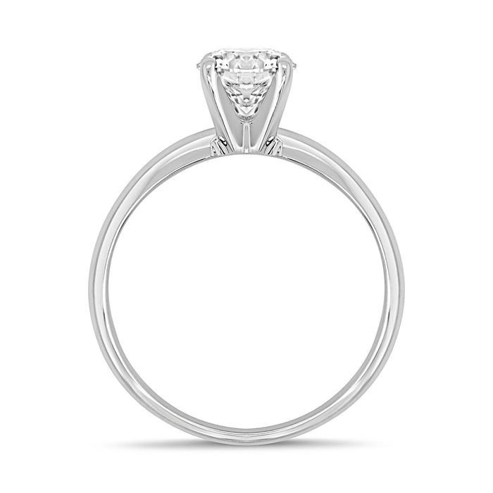 1.00CT Lab Grown Solitaire Engagement Ring
