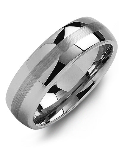 7mm Tungsten Wedding Band