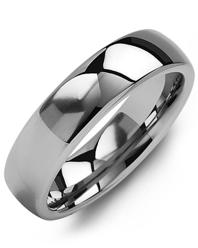 6mm Classic Tungsten Wedding Band