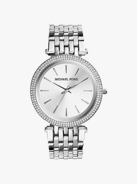 Michael Kors Darci Watch: Silver Tone