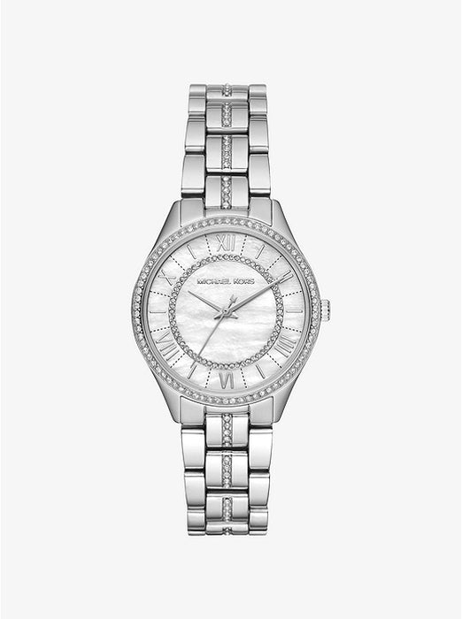 Michael Kors Mini Lauryn Watch: Silver Tone