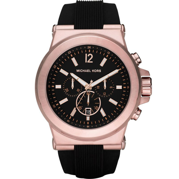Michael Kors Dylan Chronograph Watch: Rose Gold