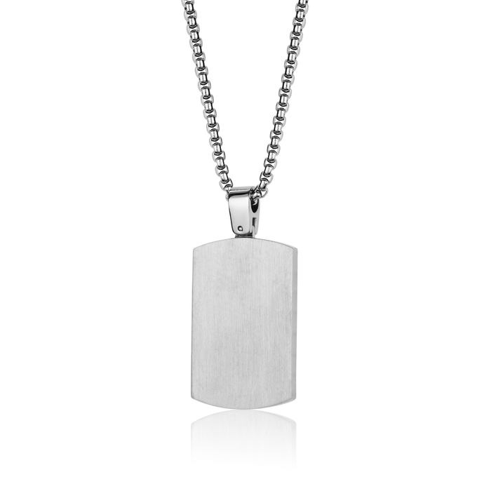 Italgem Reversible Dog Tag Chain
