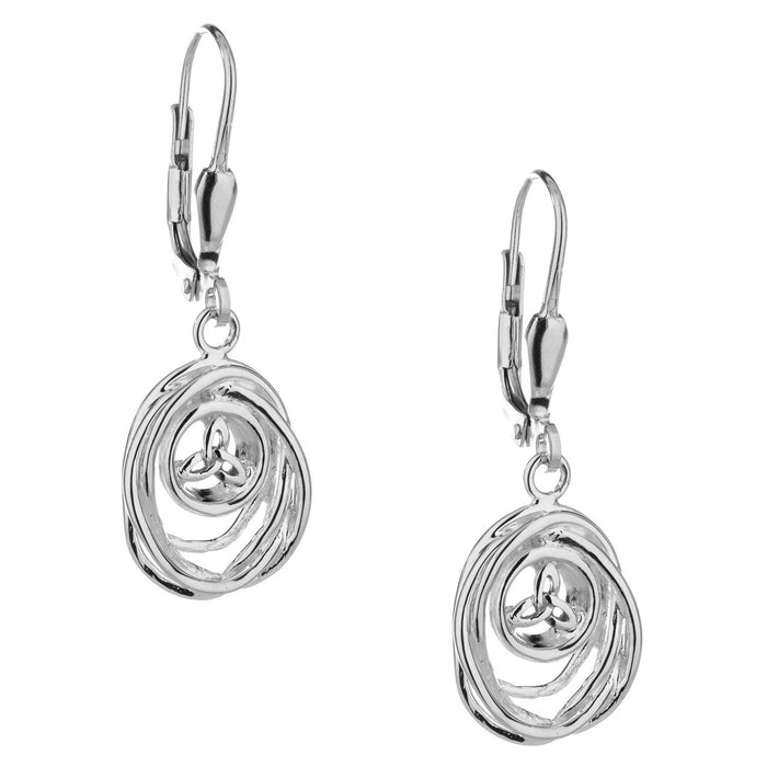 Keith Jack Celtic Cradle of Life Earrings