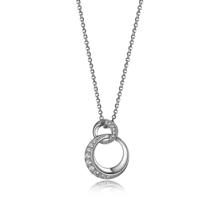 Elle Double Circle Necklace