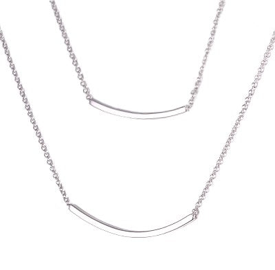Layered Bar Necklace