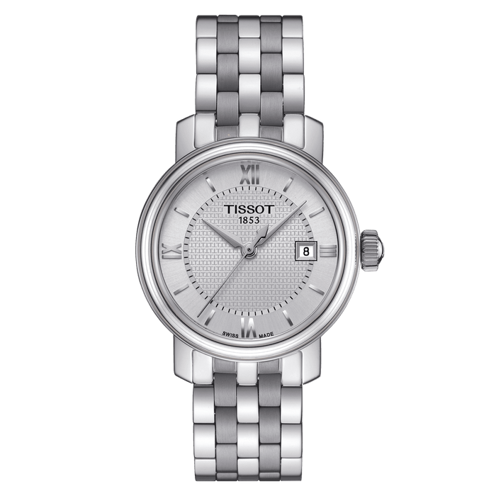 Tissot Ladies Bridgeport Watch: Silver