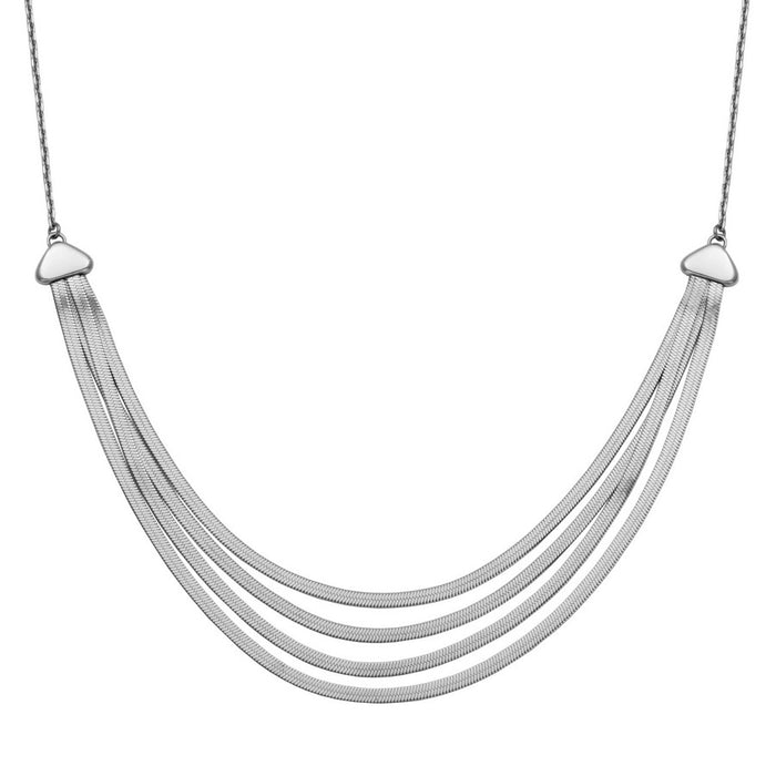 Steelx 4 Layer Necklace