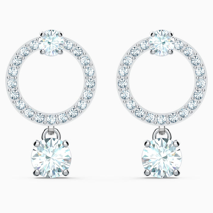 Swarovski Attract Circle Earrings