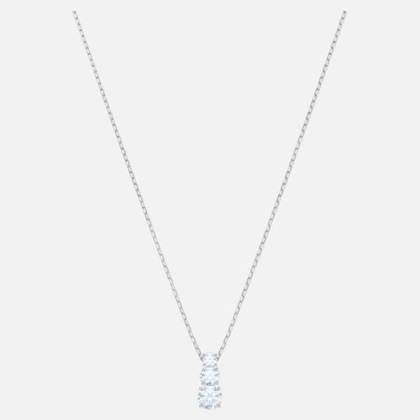 Swarovski Attract Trilogy Necklace: White