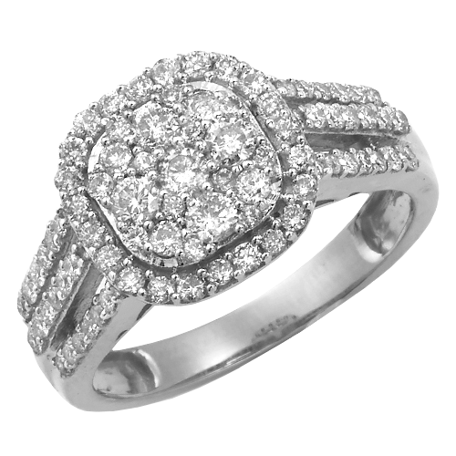1.00CT Engagement Ring Style #46781 second view