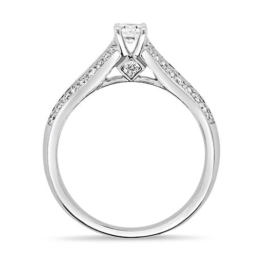 .59CT Diamond Engagement Ring