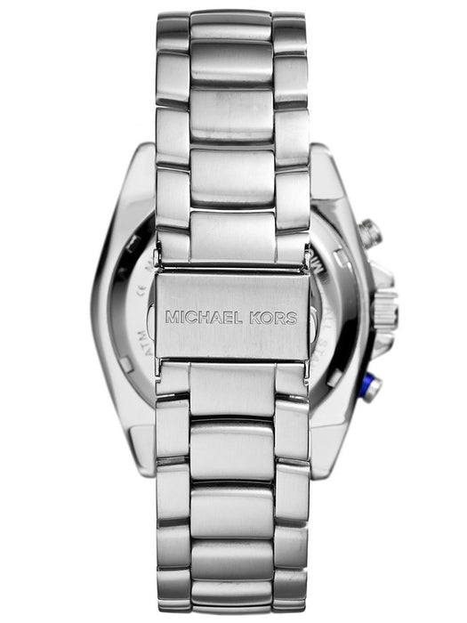 Michael Kors Jetmaster Watch: Silver Tone