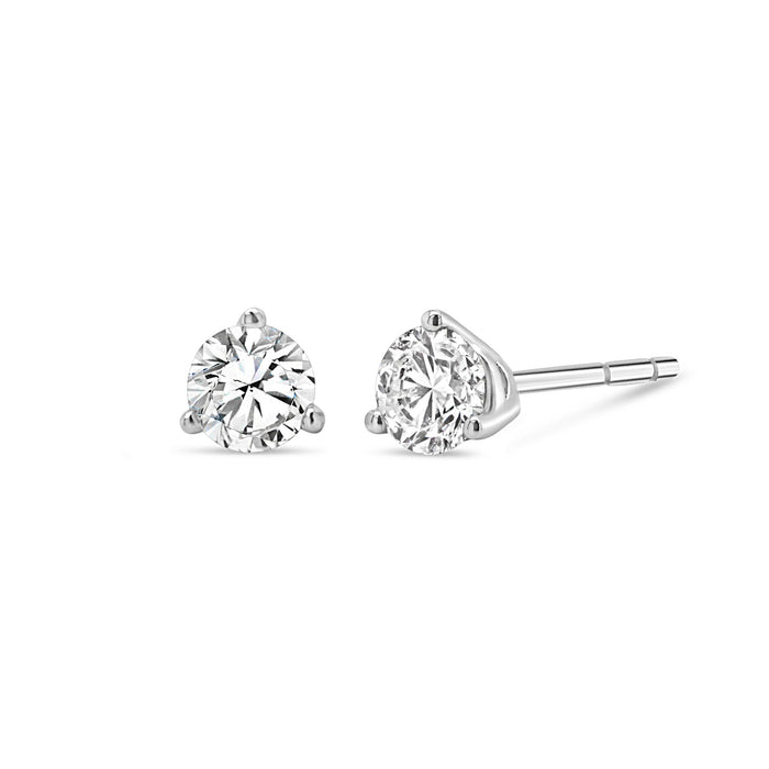 .50CT Bogart's 3 Prong Diamond Studs