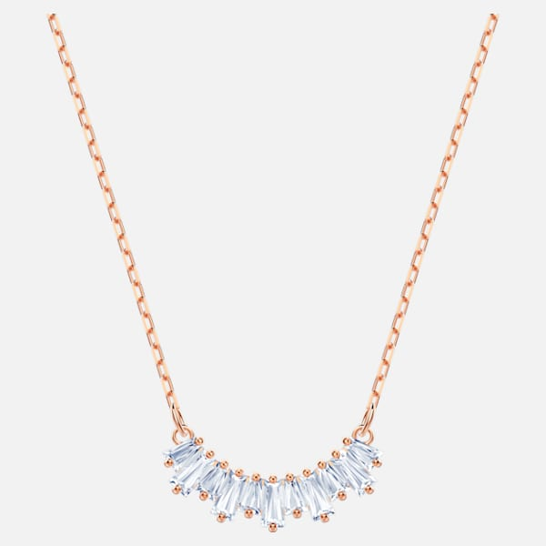 Swarovski Sunshine Necklace: Rose