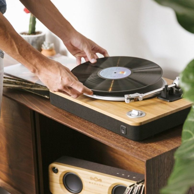 HOUSE OF MARLEY STIR IT UP TURNTABLE Bluetooth® LEVYSOITIN
