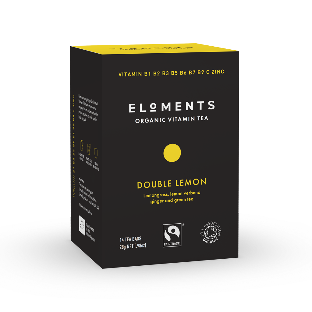 ELOMENTS Double Lemon Vitamiinitee 14 pss