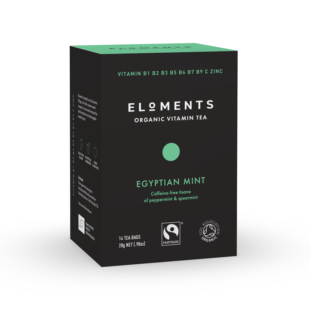 ELOMENTS Egyptian Mint Vitamiinitee 14 pss