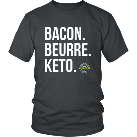 Bacon. Beurre. Keto. (Homme)