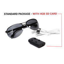 Load image into Gallery viewer, Technology-Infused Sunglasses with HD1080P Video