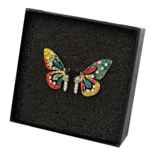 Load image into Gallery viewer, Stunning Sparkly Butterfly Earrings