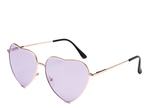 Load image into Gallery viewer, Purple Heart Sunglasses