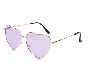 Purple Heart Sunglasses
