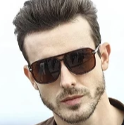 Load image into Gallery viewer, Men's Trending Square Aviator Shades