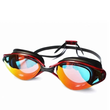 Load image into Gallery viewer, NEW! Mirror Coated Silicone Fashion Swimming Glasses