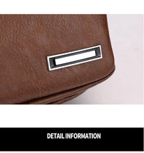 Load image into Gallery viewer, Mens Cross-Body USB Messenger Bag