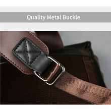 Load image into Gallery viewer, Men's Vintage Leather Backpack