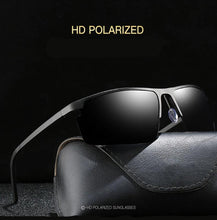 Load image into Gallery viewer, Sleek HD Polarized Rectangle Shades