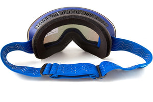 Sleek OTG Snow Goggles with UV400 Protection