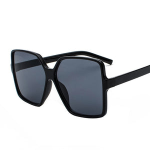 Women's Oversized Retro Square Shades
