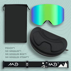 High Performance Magnetic Ski Goggles