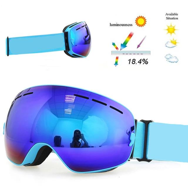 Big Mask OTG (Over the Glasses) Double Layer Ski Shades