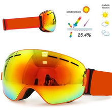 Load image into Gallery viewer, Big Mask OTG (Over the Glasses) Double Layer Ski Shades