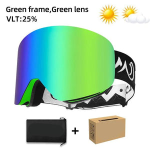 HOT! KIDS Magnetic Anti-Fog UV400 Ski Shades